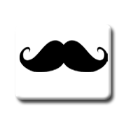 Icono Mostacho by NatEditionsKress