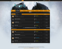 Pure Insanity.eu - Guild by h1xndesign