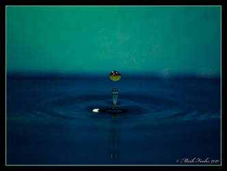 Orange Into Aqua by o0xerog0o