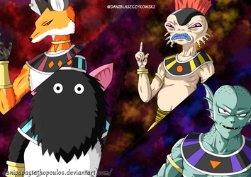 The 4 Gods of Destruction by DaniPapastathopoulos