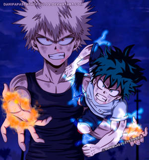 Deku vs Kacchan 2 - Boku no Hero Academia