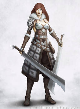 Female Warrior Concept