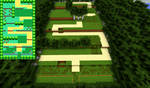 Kanto Route 1 in Minecraft