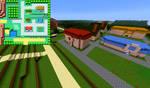 Viridian City in Minecraft