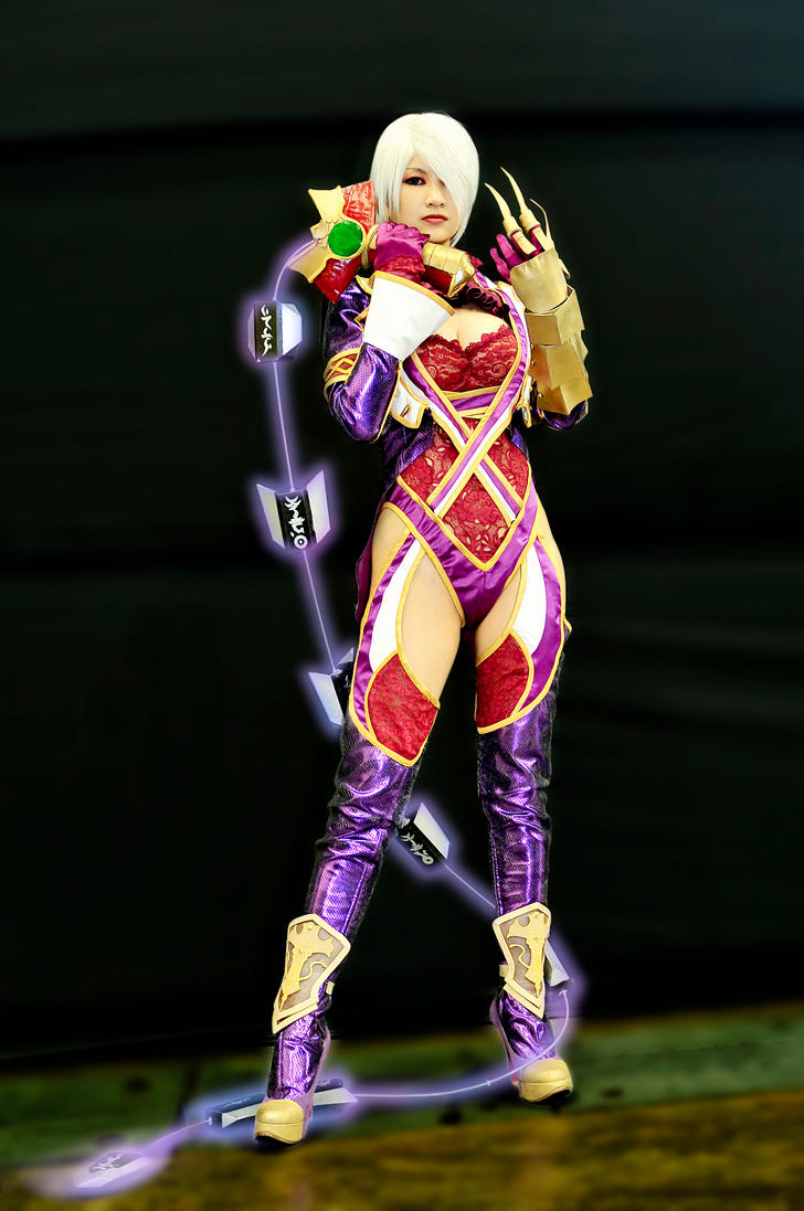 Soul Calibur V - Ivy by bluetears76