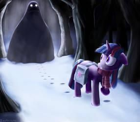Twilight's cold terror by Rautakoura