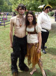 Faun Costume complete, front
