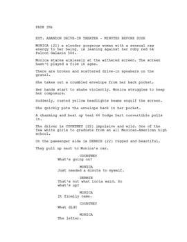 Driving Without Brakes Page 1