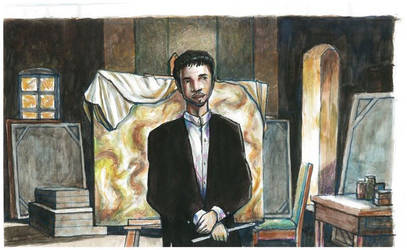 Art of Dreaming - Short Film - Enrique dwelling by elgatonegro13