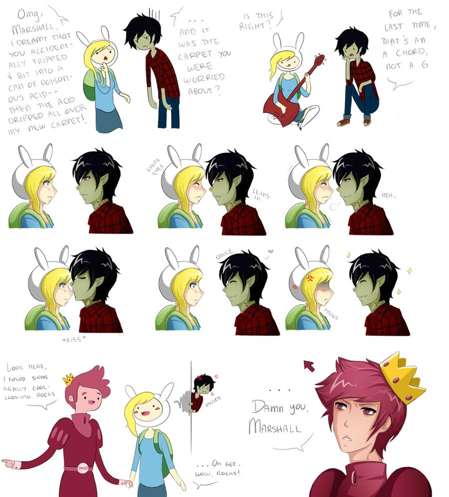 Adventure Time sketch dump by Katkat-Tan