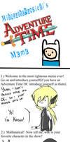 Adventure time meme