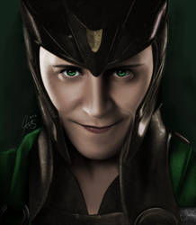 Loki by Katkat-Tan