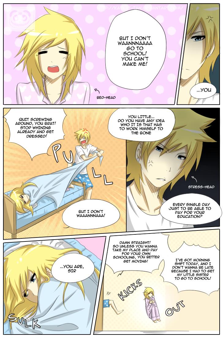 Adventure Time: Chap 2 - Page 1 by Katkat-Tan