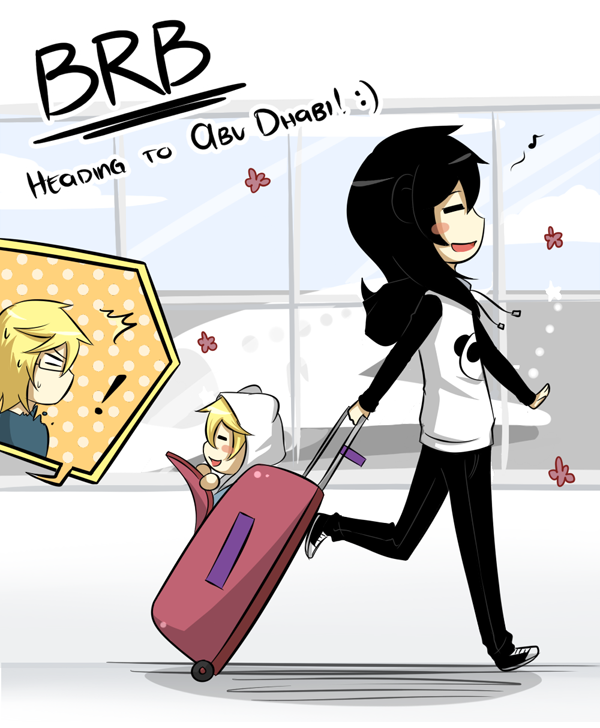 Off to the U.A.E.! :D by Katkat-Tan