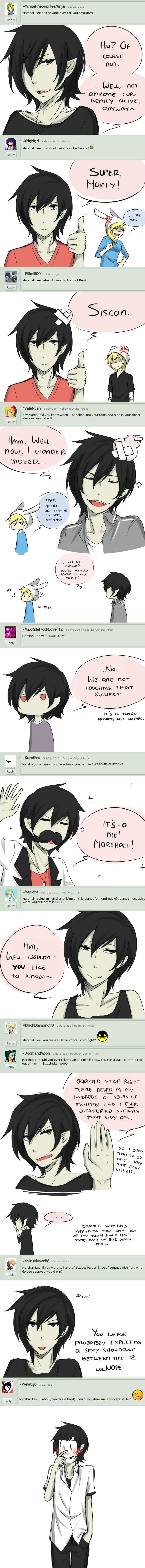 Ask Marshall Lee - Dump 2 by Katkat-Tan