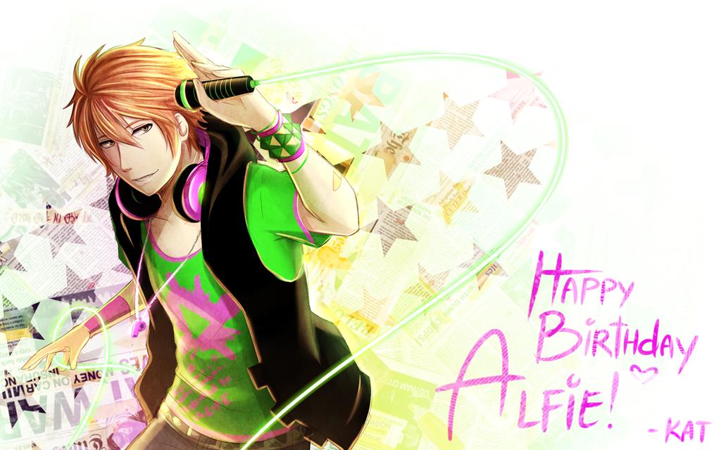 Happy B-day, Alfie! by Katkat-Tan