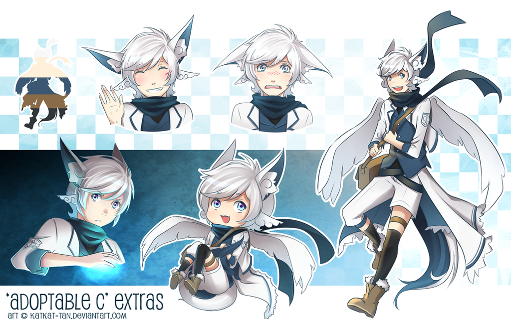 [Adoptable C] EXTRAS by Katkat-Tan