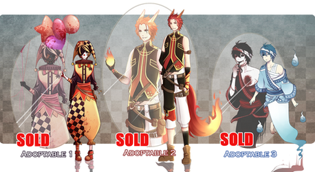 [Adoptable]  Halloween Auction [CLOSED]