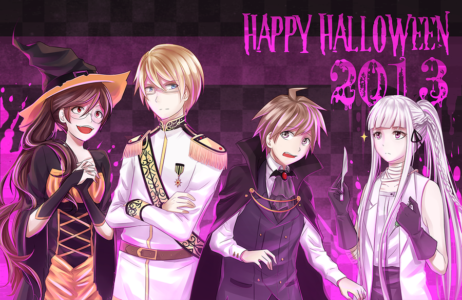 [Totallynotlate] Halloween 2013! by Katkat-Tan