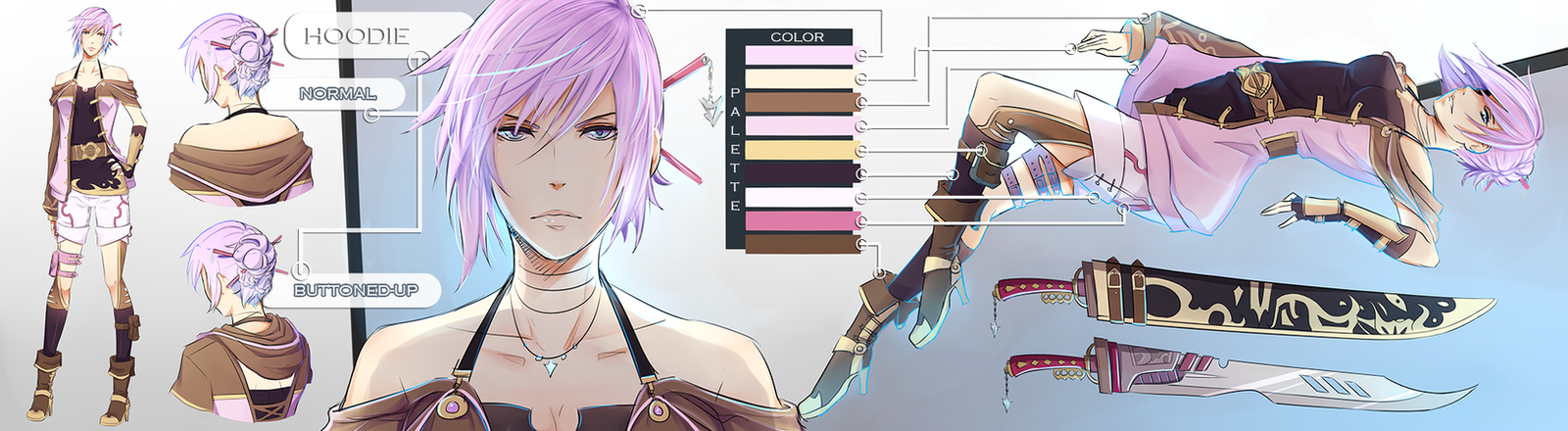 FFXIII : LR Contest by Katkat-Tan