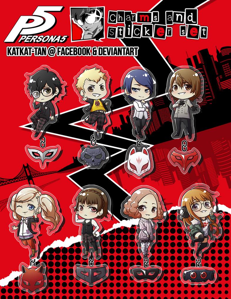 Persona 5 PRE-ORDERS by Katkat-Tan