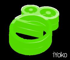 3D Monkey or something logo by iYok0