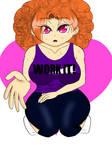 my anime girl 87 colored