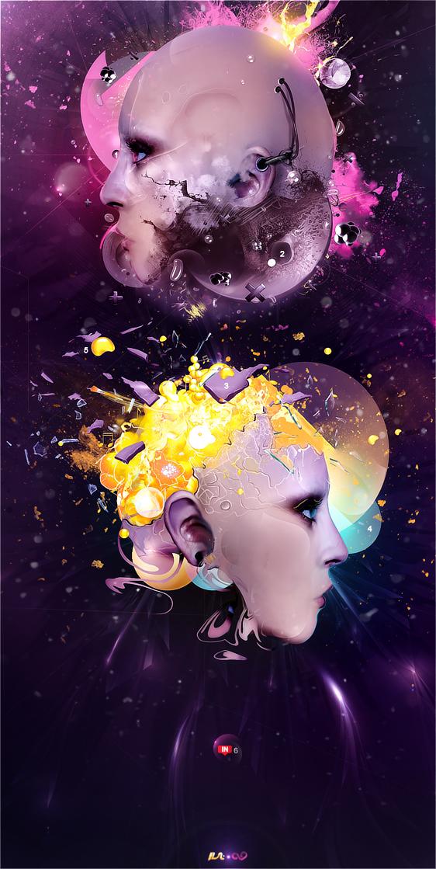 Hemispheres by vezeta