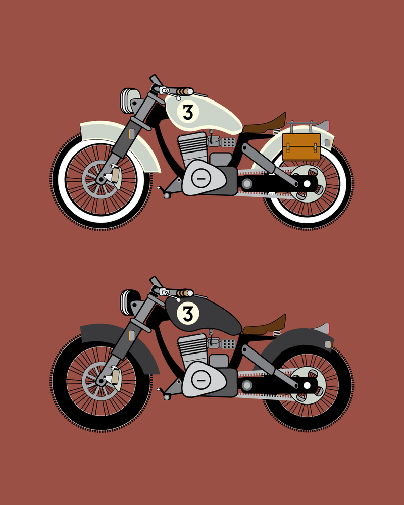 St. Augustine 350 | Vector motorcycle by LucasMonster