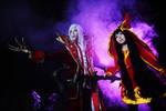 The Crimson Reaper and The Fae Sorceress
