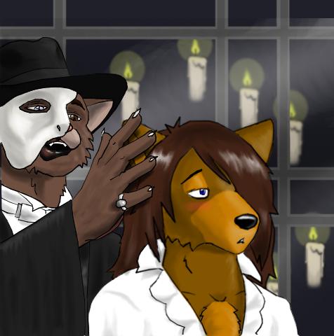 Phantom of the opera porn