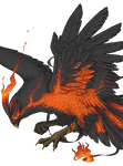 Black Phoenix by BronzeHalo