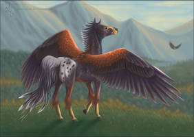 Harris Horse by BronzeHalo