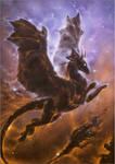 Dragon Nebula by BronzeHalo