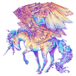 Day 2 - Bismuth by BronzeHalo