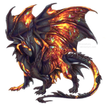 Day 8 - Fire opal dragon