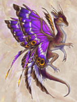 Dracatura iris by BronzeHalo