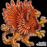 Heraldic griffon
