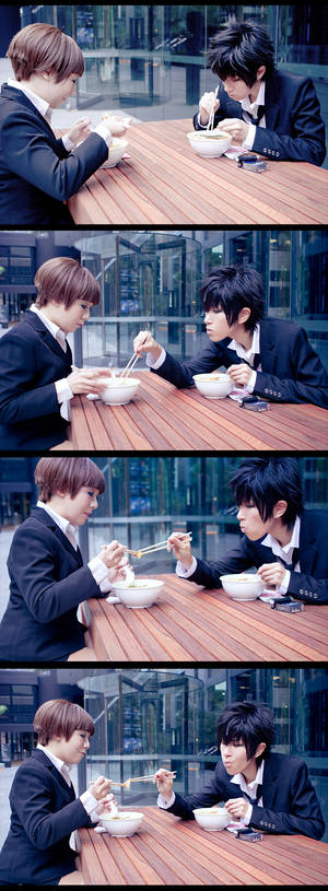 Psycho-Pass - Curry Udon~~~