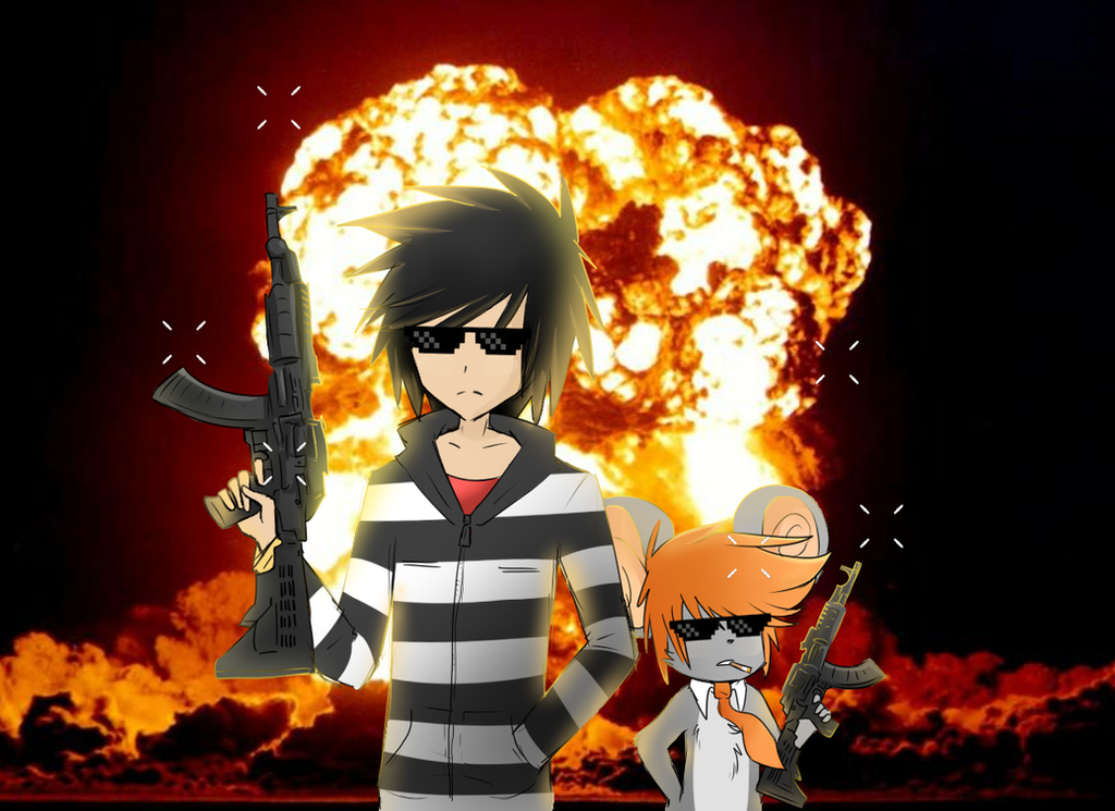 cool guys don't look at explosions by CoolGuyEnzo on ...