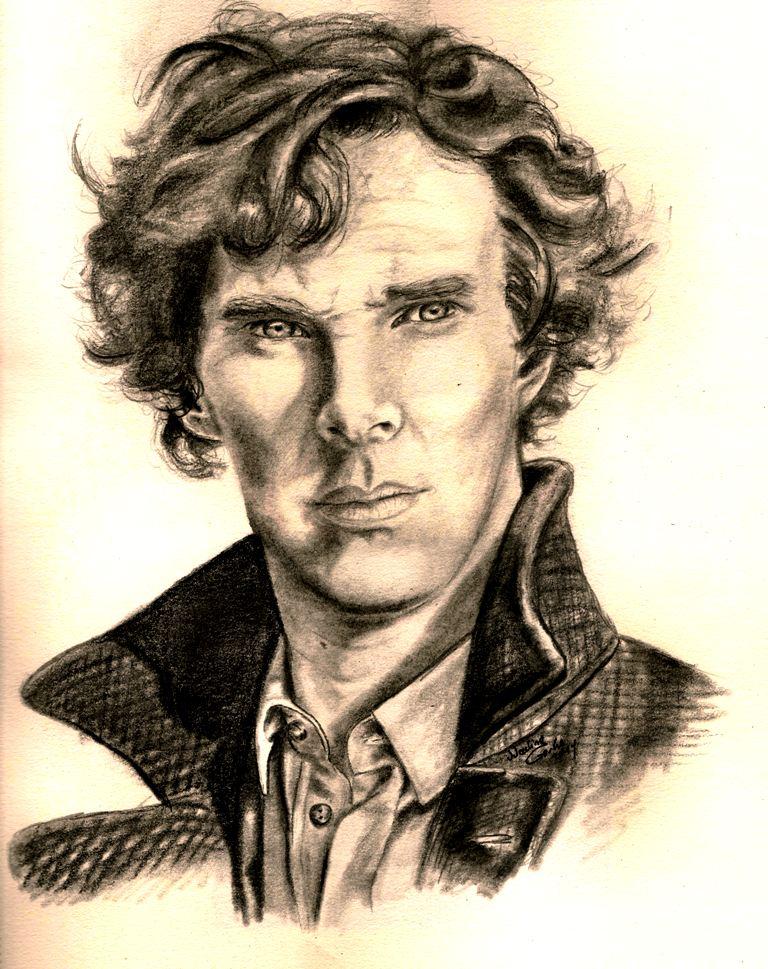 Sherlock Holmes (BBC) - Benedict Cumberbatch by AmyCrane