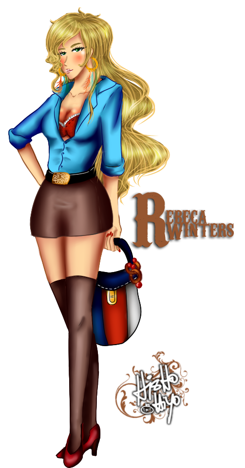 Rebeca Winters by Hishousophy