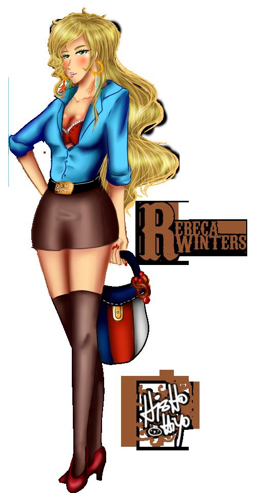 Rebeca Winters by Hishousophy