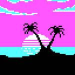 CGA palette, 80s Sunset
