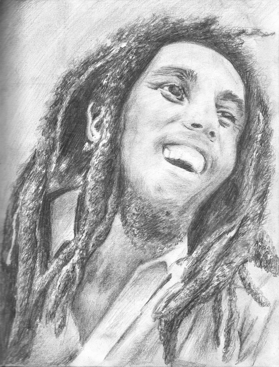 Bob Marley Lion Drawings