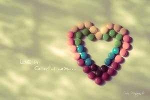 Love in Colorful Ways by OinkyOwen