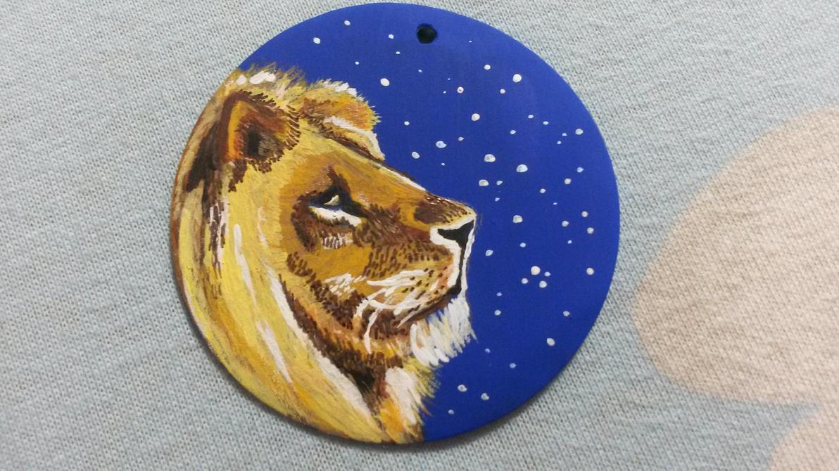 Lion pendant by Analdi