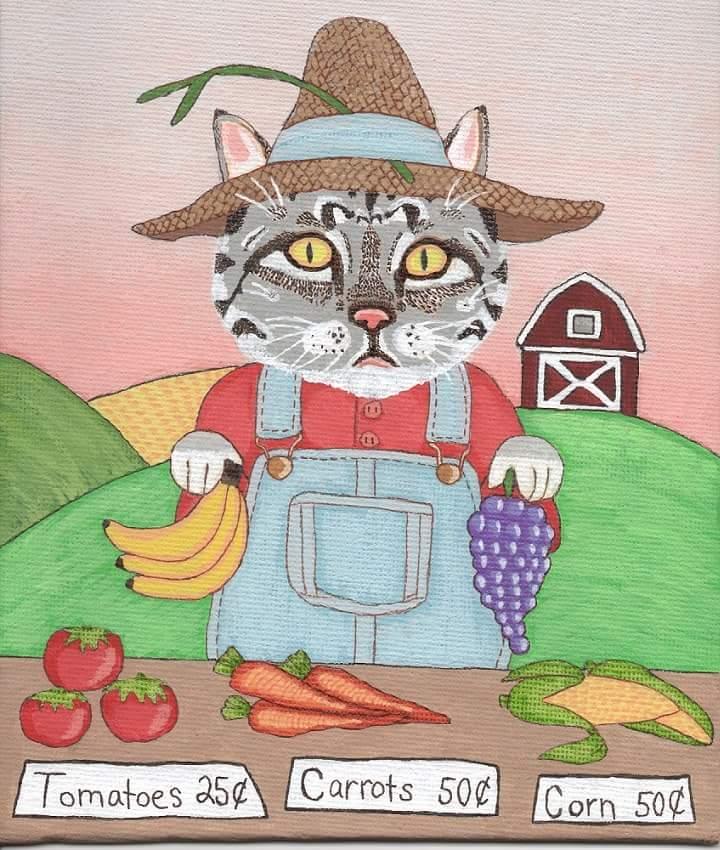 Farmer Cat Jones by Analdi