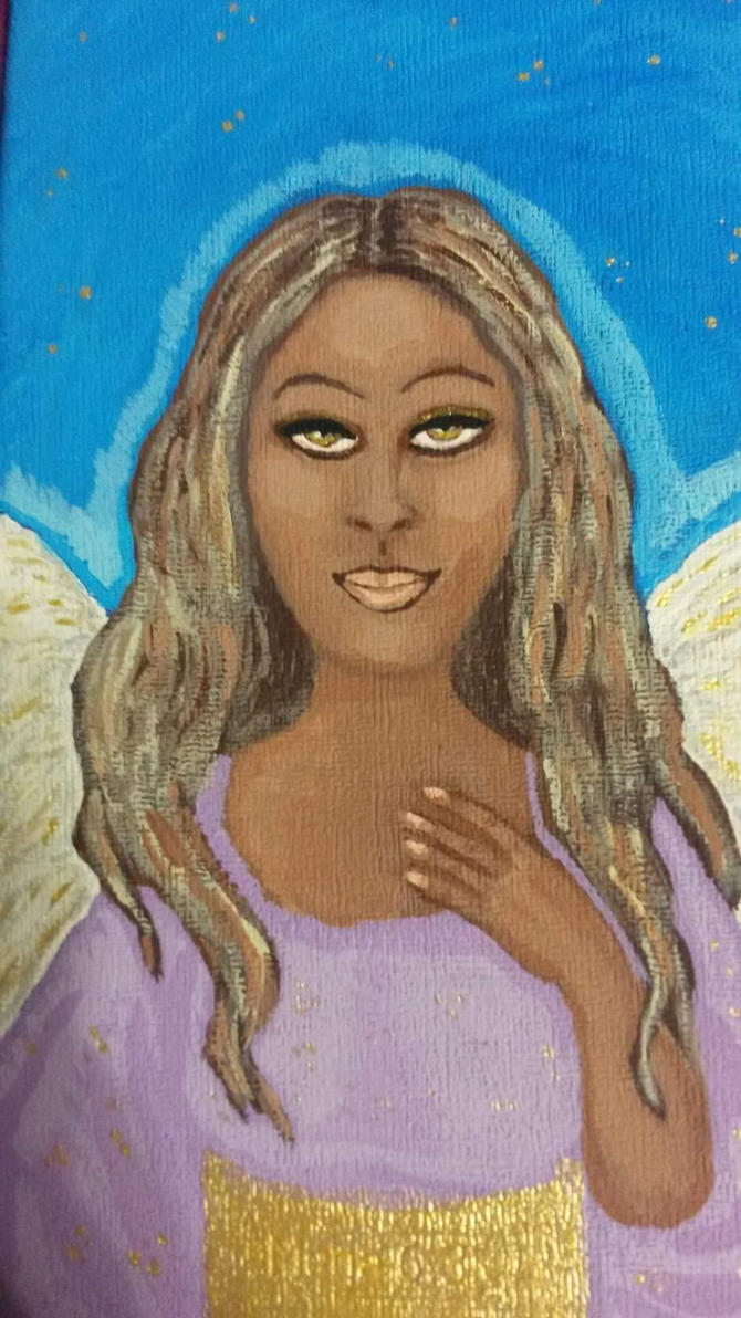 African Angel by Analdi