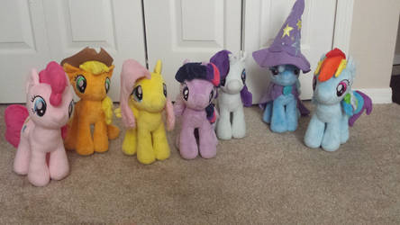 Mane 6 and Trixie